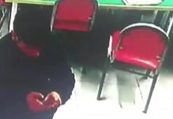 Hırsızevde düşürdüğü şans oyunu kuponundan yakalandı