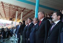 Cumhurbaşkanı Erdoğan Mesajı aldık dedi ve resti çekti: Kıyamete kadar burada olacağız