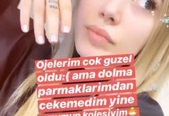 Yasmin Erbil'i sinirlendiren mesaj