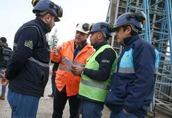İzmirde metro inşaatında göçük