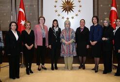 Emine Erdoğan, kadın çiftçilerle bir araya geldi