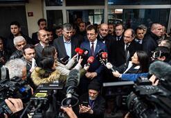 Ekrem İmamoğlu seçim çalışmalarını Beyoğlunda sürdürdü