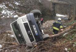 Giresunda feci kaza: 5 öğrenci kazada, 7 kişi kaza yapanları kurtarmak isterken yaralandı