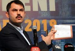 Çevre ve Şehircilik Bakanı Murat Kurum: Tapu senedinde QR kodu uygulaması önemli