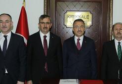 Cumhurbaşkanı Yardımcısı Oktay, Kırıkkalede ziyaretlerde bulundu
