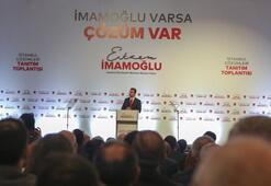 Ekrem İmamoğlu, İstanbul projelerini anlattı