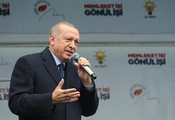 Son Dakika... Cumhurbaşkanı Erdoğan: Bu sabah 7 tanesini inlerinden aldık