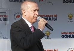 Cumhurbaşkanı Erdoğandan sert mesaj: Sen biraz dinlen dediğimizde...