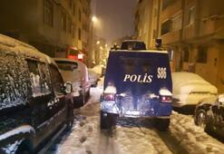 İstanbulda silahlı baskın Ailesinin gözü önünde...