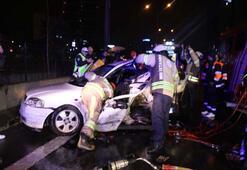 Son dakika | İstanbulda 11 araç birbirine girdi Ölü ve yaralılar var...