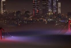 İstanbulda yoğun sis Görüş mesafesi 10 metreye kadar düştü