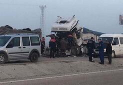 Korkunç ölüm TIR şoförü...
