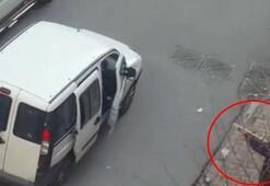 Ümraniyede sokak ortasında pompalı dehşeti kamerada