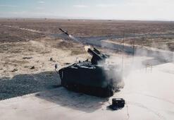 Türkiyenin tank avcısı milli füzeyle vurdu