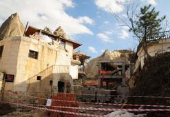 Son dakika... Bakanlık duyurdu Otel inşaatında yıkıma başlandı