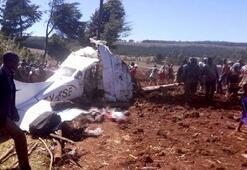 Kenya'da Cessna 206 tipi uçak düştü: 5 ölü