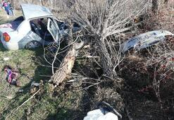 Sungurluda feci kaza: 2 yaralı