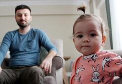1 yaşındaki kızı moral oldu, yaşadıklarıyla herkesi duygulandırdı