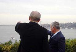 Cumhurbaşkanı Erdoğan, Ürdün Kralı ile kahvaltıda bir araya geldi