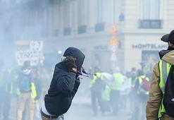 12. haftada ortalık karıştı Polis sert müdahalede bulundu