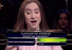 Milyonerde Atatürk sorusunda joker kullanınca...