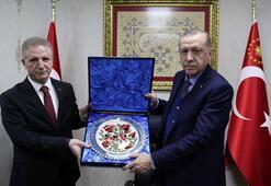 Cumhurbaşkanı Erdoğanın kabulleri
