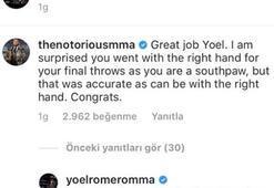 Acun Ilıcalının Yoel Romero gururu