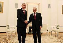 Son dakika... Cumhurbaşkanı Erdoğan - Putin görüşmesi sona erdi