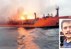 Kerç Boğazındaki gemi yangınında ölen Semih Solakın evinde yas var