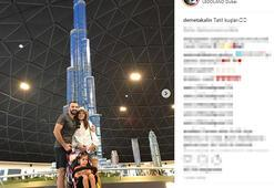 Dubaide aşk tazelediler