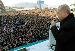 Cumhurbaşkanı Erdoğan: Trenden inenler bir daha binemeyecekler
