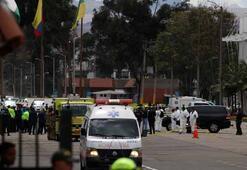 Kolombiyada polis okuluna bomba yüklü araçla saldırı