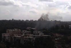 Son dakika: Lüks otelde patlama ve silah sesleri Saldırıyı o kanlı örgüt üstlendi