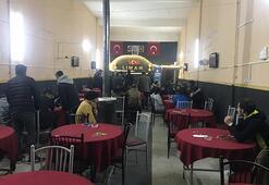 Konyada kumar baskını Polisleri görebilmek için özel düzenek kurmuşlar
