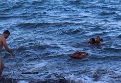 Yer: Trabzon Karısını buz gibi suda o halde görünce...