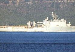 ABD ve İngiliz savaş gemileri Boğazdan geçti