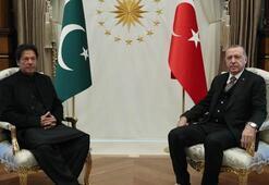 Cumhurbaşkanı Erdoğan, Pakistan Başbakanı İmran Hanı kabul etti