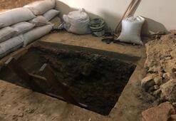 Apartmanın altına üç metre çukur açıp sakladılar
