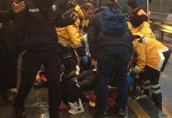 Son Dakika: Metrobüs durağında kaza Acı haber geldi