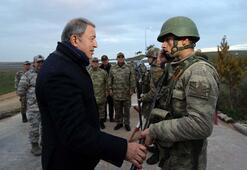 Son Dakika: Bakan Akarın ziyaretinde Cumhurbaşkanı Erdoğandan askerlere mesaj: Tarih yazdınız
