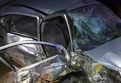 Burdurda 4 araç birbirine girdi: Biri şehit babası 2 ölü, 8 yaralı