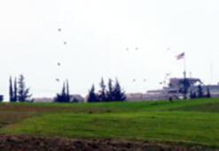 Menbiç sınırında ABD helikopterleri uçuyor
