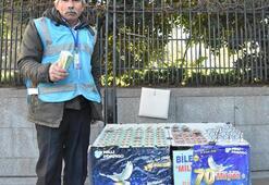 Tezgahtaki Milli Piyango biletlerini yırtıp, Benden şikayetçi ol dedi
