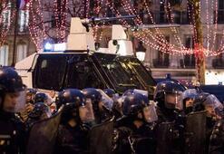 İşte Fransanın cumartesi bilançosu Yüzlerce gözaltı var...
