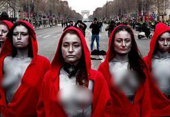 Son dakika: Pariste biber gazı ve gözaltılar