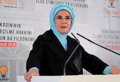 Emine Erdoğan: Kadınlarımızın yerel yönetimlerde söz sahibi olmasını destekliyoruz