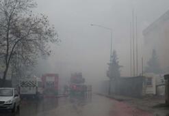 Tuzlada fabrika yangını Çok sayıda itfaiye sevk edildi...