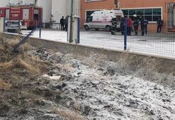 Kırıkkale Organize Sanayi Bölgesinde patlama