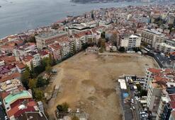 Yıkım sonrası Atatürk Kültür Merkezi alanı havadan görüntülendi