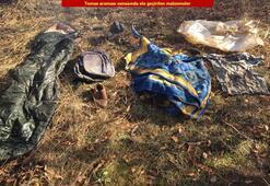 Son dakika: PKKlı teröristlere ait sığınaklar imha edildi